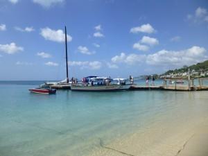 Grande Anse Beach water taxi