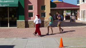 St Kitts Santa